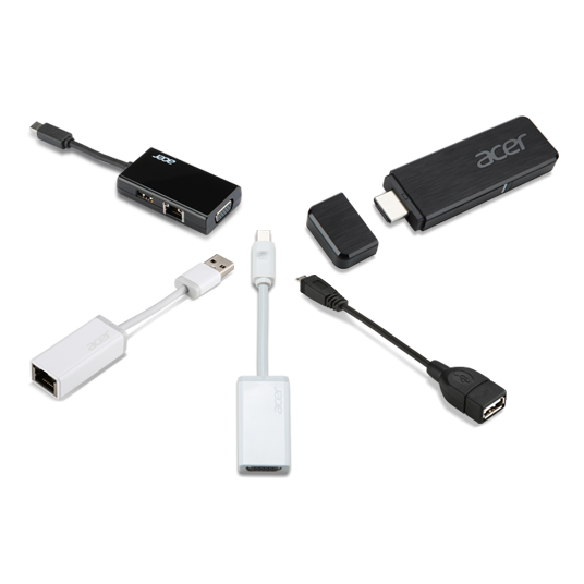 Acer 7in1 Type C dongle | Silver
