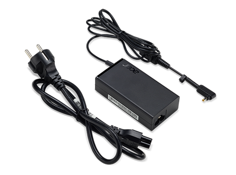 Acer 65W_3PHY BLK ADAPTER - EU POWER CORD