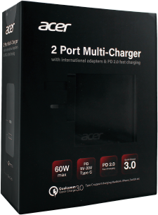 Acer 2 Port Multi-Charger