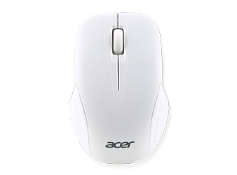 Wireless Optical Mouse Moonstone White