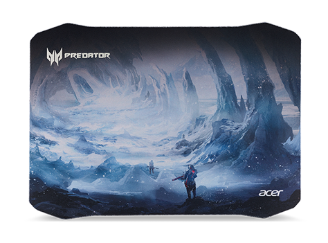 PMP712 Predator Mouse Mat Ice Tunnel