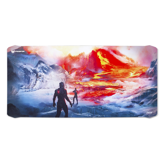 PREDATOR MOUSE PAD FABRIC AND RUBBER