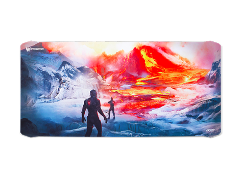 Predator Mouse Pad - Magma Battle (XXL)