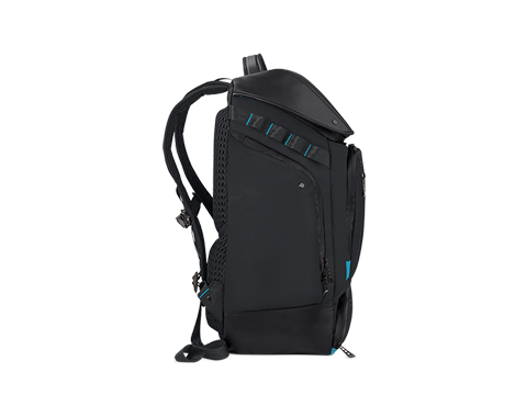 PREDATOR GAMING UTILITY BACKPACK BLACK w EAL BLUE ACCENTS PBG591 photogallery 04