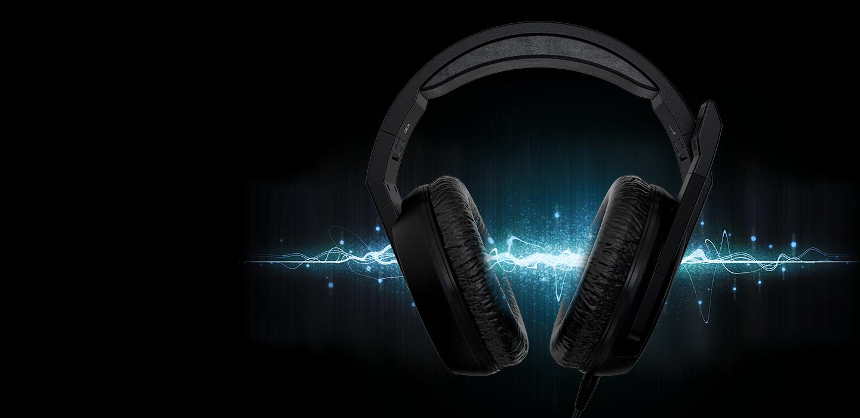 Predator Galea 311 - Clear Audio - ksp 01 desk