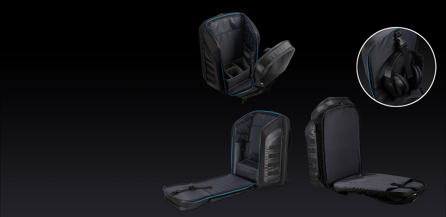 Predator M-utility Backpack - Easy Access - ksp 01 desk