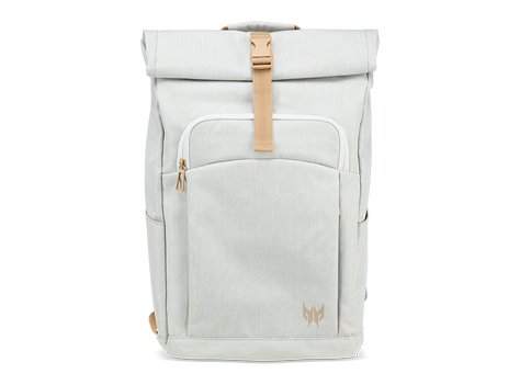 ACER PREDATOR ROLLTOP JR. BACKPACK, WHITE