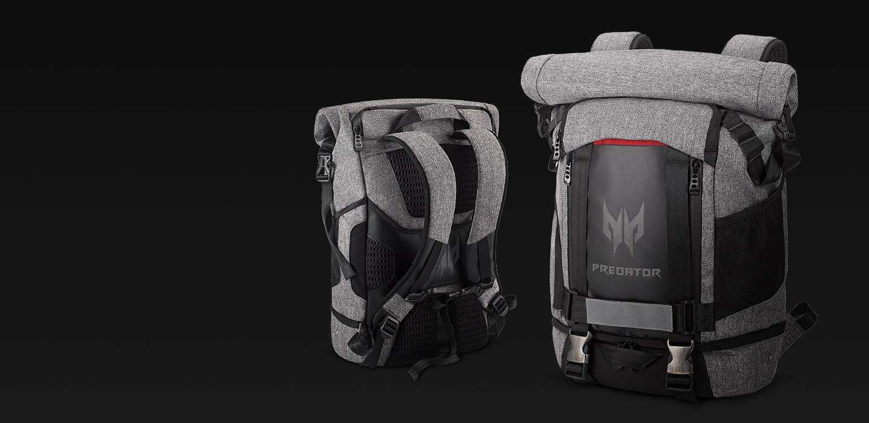 Predator Rolltop Backpack - Part of the Pack - ksp 01 desk