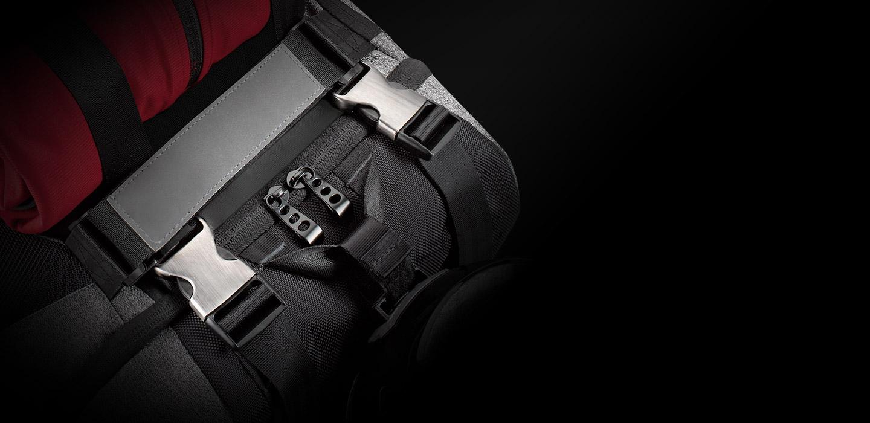 Predator Rolltop Backpack - A Strong Hold - ksp 02 desk