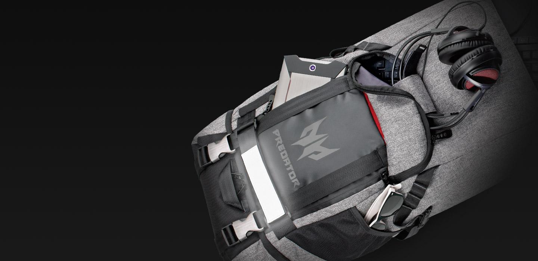 Predator Rolltop Backpack - The Small Details - ksp 07 desk