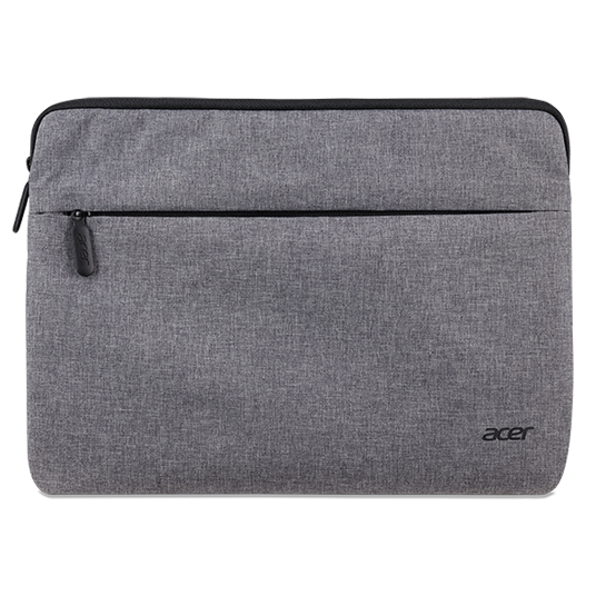 ACER PROTECTIVE SLEEVE DUAL TONE LIGHT GRAY WITH FRONT POCKETOR 11.6