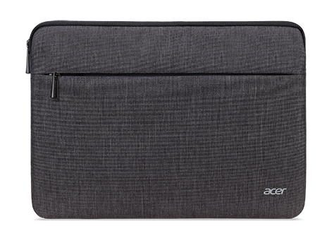 ACER PROTECTIVE SLEEVE DUAL TONE DARK GRAY WITH FRONT POCKET FOR 14