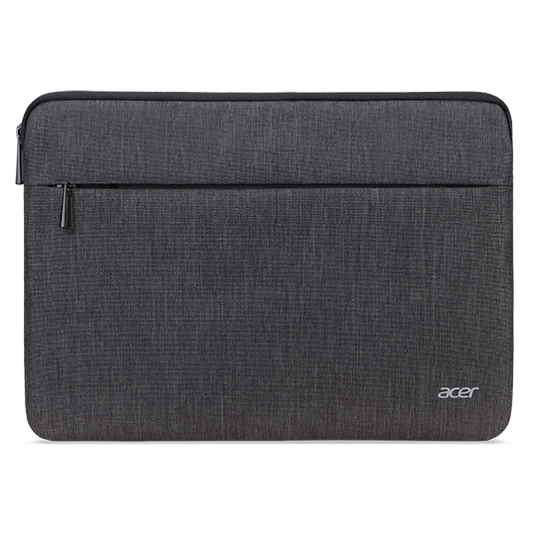 ACER PROTECTIVE SLEEVE DUAL TONE DARK GRAY WITH FRONT POCKET FOR 15.6