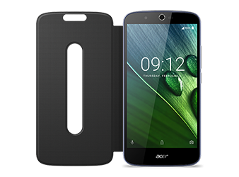 Zest Plus Flip Cover Blue