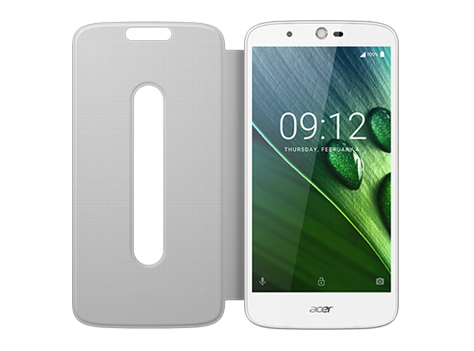 Liquid Zest Plus - Flip cover White