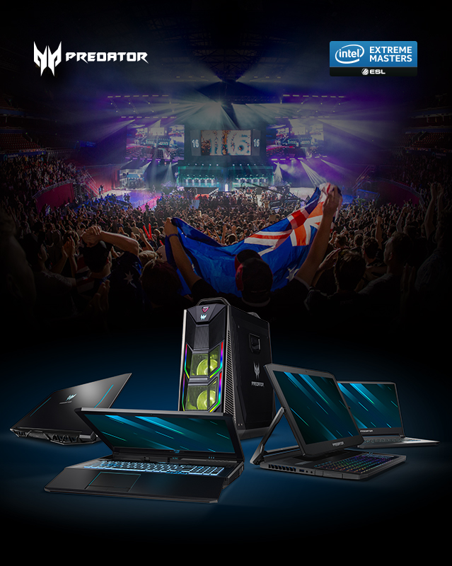 Intel Extreme Msters Sydney 2019 | Acer Australia