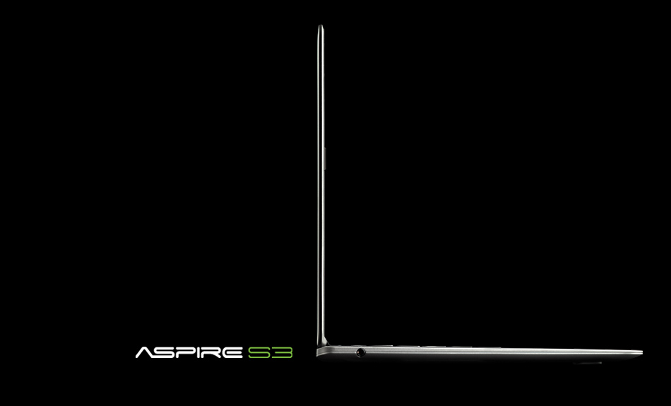 Aspire Ultrabook Aspire s3 Ultrabook