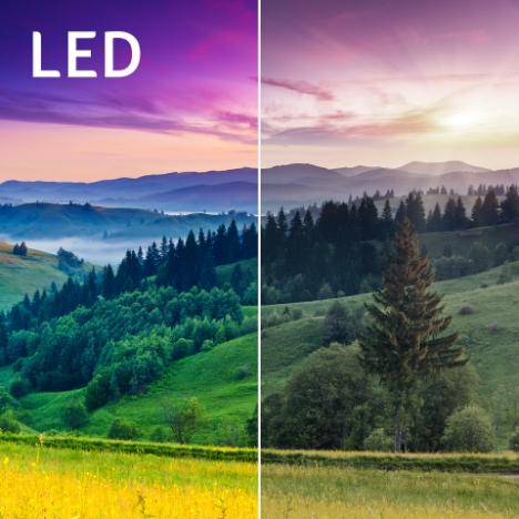 Enhanced LED Color Gamut