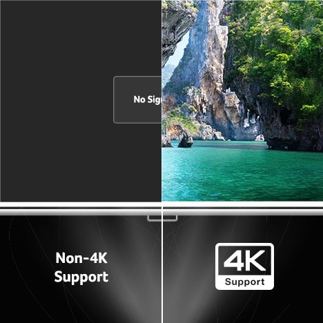 4K HDR Support