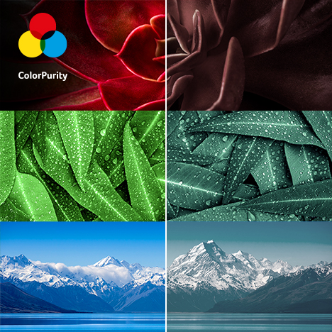 ColorPurity for More Natural Colors