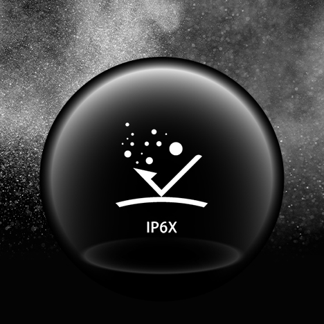 IP6X Rated