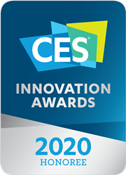 CES Innovation Awards 2020 Honoree Badge