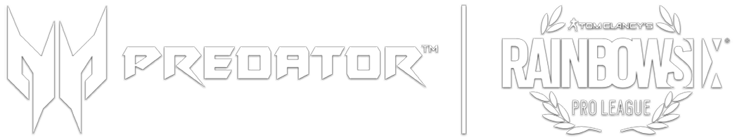 Predator and Rainbow Six Joint Logos