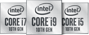 Intel Core i5 i7 i9 10th Gen