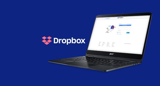 Dropbox 25 GB 儲存空間