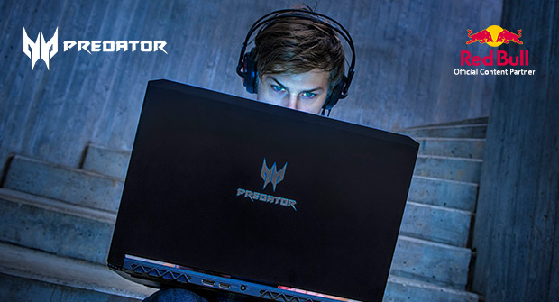 Explore Predator & Red Bull Gaming Partnership
