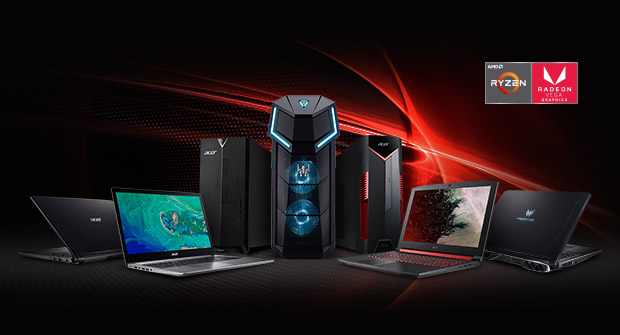 Productos AMD de Acer