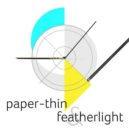 Paper-thin Featherlight