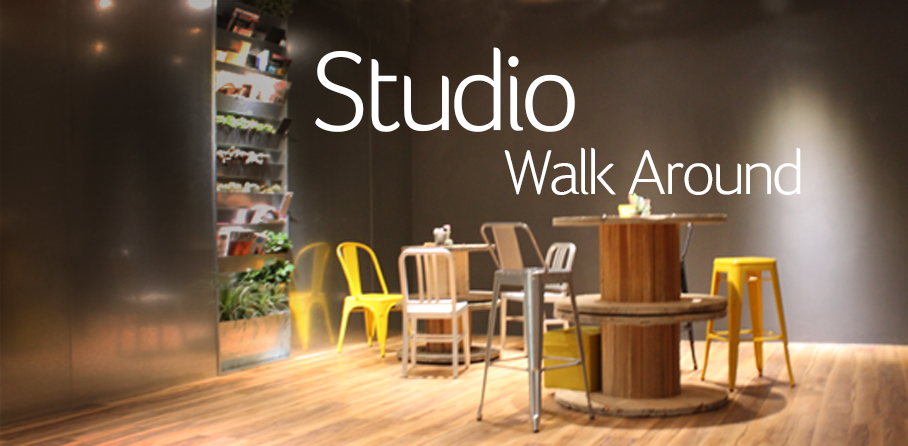 Studio Walk Around