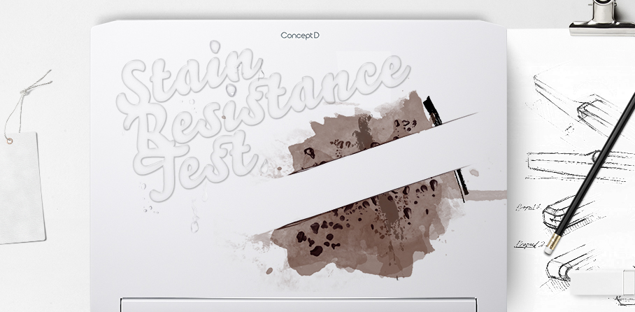 The White stain resistance test