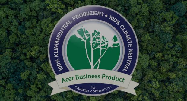 Neutralité climatique des produits Acer for Business