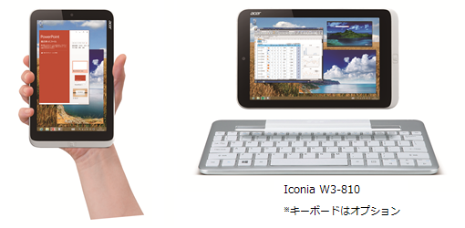 Iconia W3-810