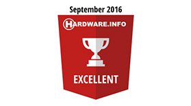 Hardware Excellence Sept 2016 - Award