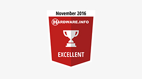 Hardware Excellent Nov 2016 - Award