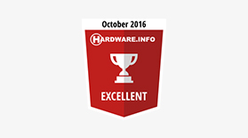Hardware Excellent Oct 2016 - Award