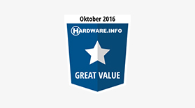 Hardware Great Value Oct 2016 - Award