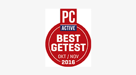 PC Active Best Getest Oct/Nov 2016 - Award