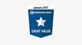 Hardware Great Value Jan 2017 - Award