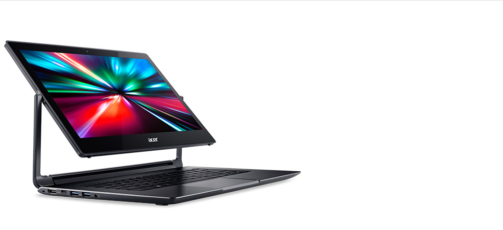 Thin and light convertible laptop meets avid gamer