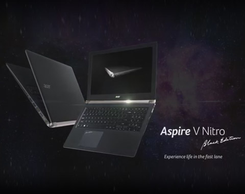 Aspire V Nitro - Black Edition (features & highlights)