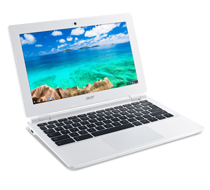 Chromebook 11 White non-touch photogallery 03