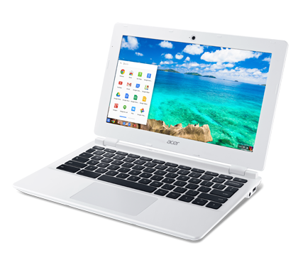 Chromebook 11 White non-touch photogallery 01