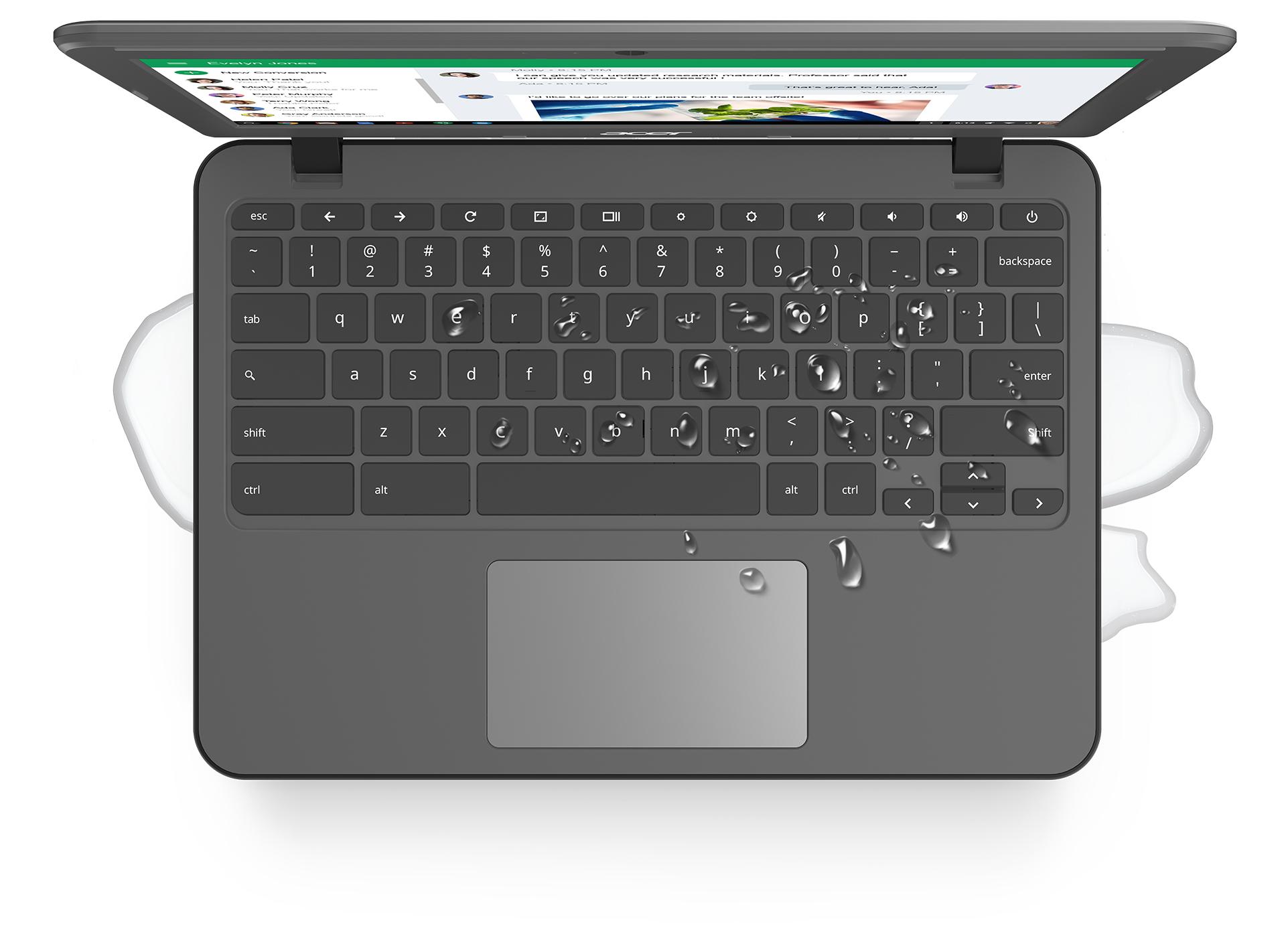 Chromebook 11 N7 - Spill Resistant Keyboard - Large