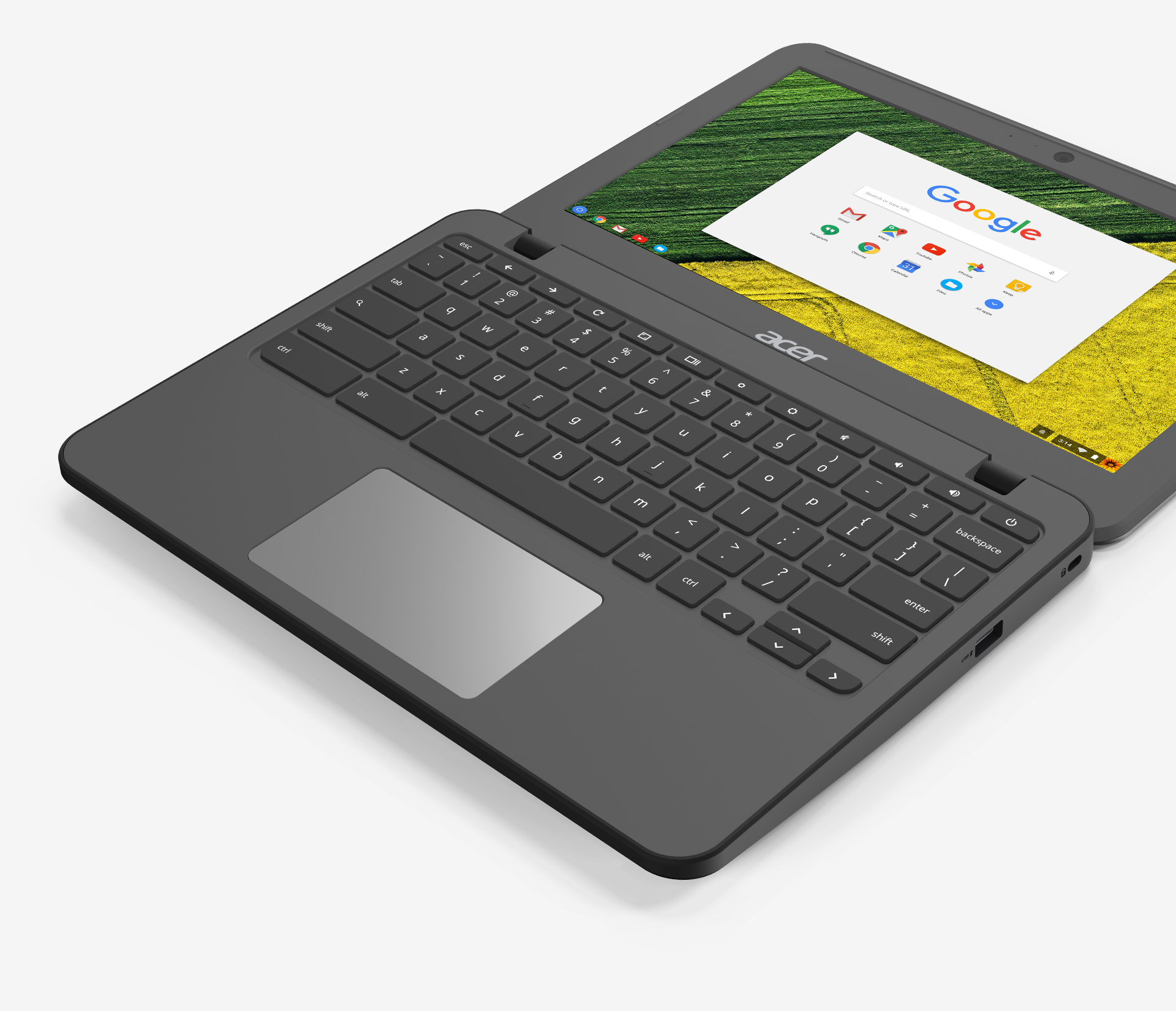 Chromebook 11 N7 - Tamper-proof Keyboard - Large