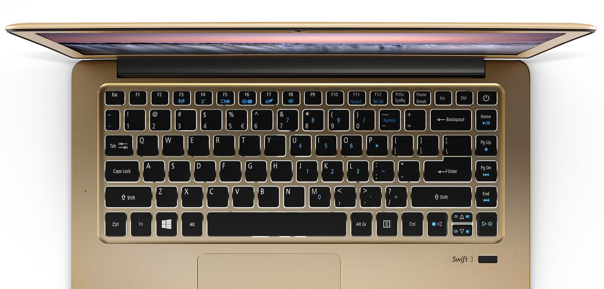 Swift 3 - Backlit Keyboard - Large