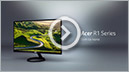 Acer - Ultrathin R1 Series Monitor